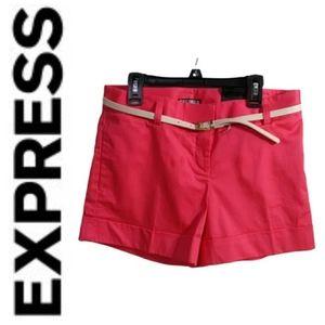 Express short whith belt/ SZ:2